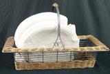 Basket & Fish Plates