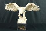 Carved Eagle Figurine
