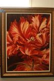 Floral Framed Canvas