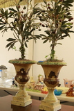Pair Of Fake Plants