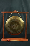 Brass Gong On Stand