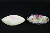2 Oval Dishes
