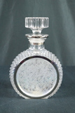 Iridescent Glass Decanter
