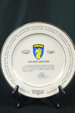 13th Airborne Division Commemorative Plate
