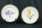 4 Timeless Treasures 22kt. Gold Plates