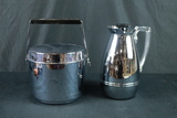 Coffee Pitcher & Ice Bucket With Strainer
