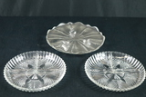 2 Divided Trays & Cake Plate