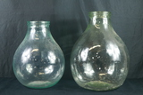 2 Large Glass Water Jugs