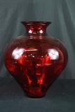 Ruby Glass Vase