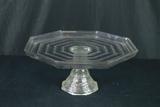 Glass Cake Plate