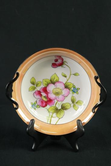 Noritake Hand Painted Double Handled Bowl
