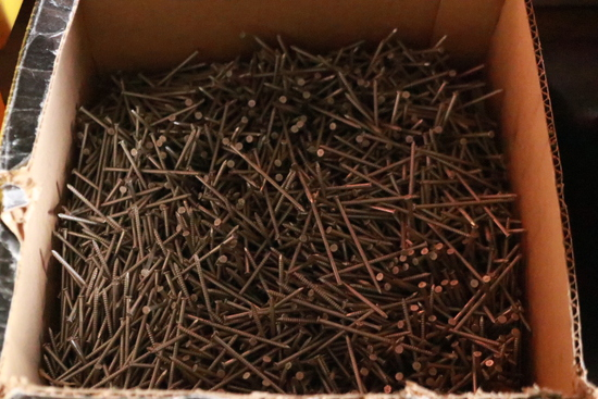 Box Of 8D Siding Nails