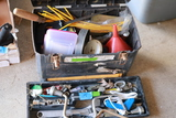 Tool Box & Contents And Flat Of Tools