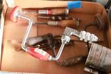 2 Breast Drills, Drill Bits, & 2 Screwdrivers