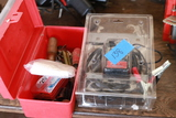 Battery Charger & Tool Box And Contents