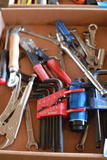 Wrenches, Allen Wrenches, Clamps, & Pliers