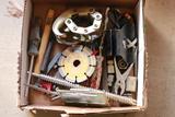 Drill Bits, Sockets, Screwdriver, & Other Assorted Tools