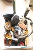 Assorted Parts & Hot Glue Gun