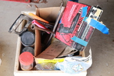 Craftsman Cordless Drill, Hand Saws, Wrenches, Assorted Parts