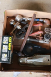 Hitch Receiver, Clevis, Head Lamp, & Ball Hitch