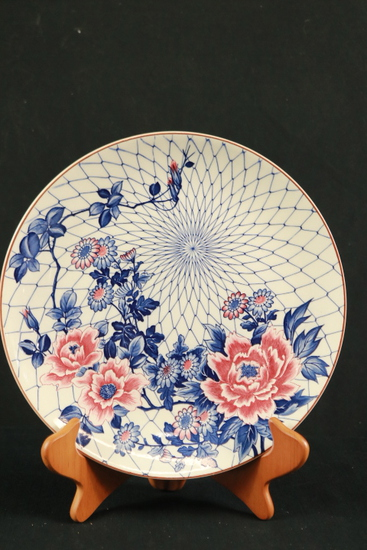 Japanese Painted Plate