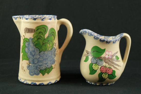 2 Country Craft Pitchers