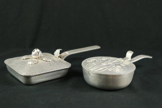 2 Aluminumware Dishes