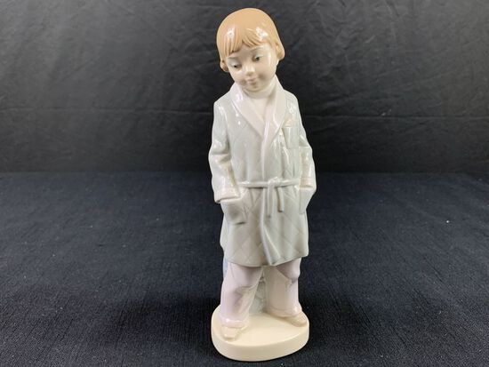 Boy in Pjs Made by Lladro