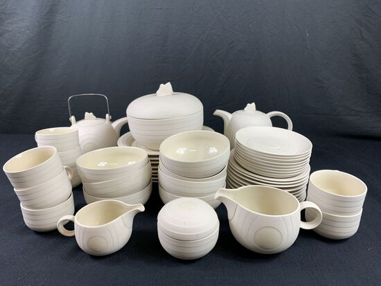 8pc Set of Tableware Made in Hornsea England