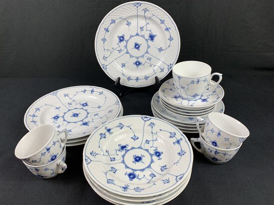 Partial China Set Made in Denmark