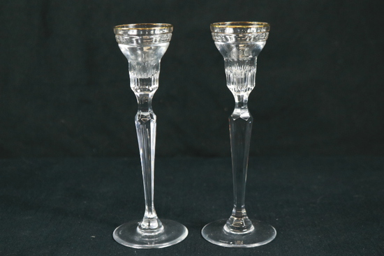 Pair of Marquis Waterford Candle Sticks