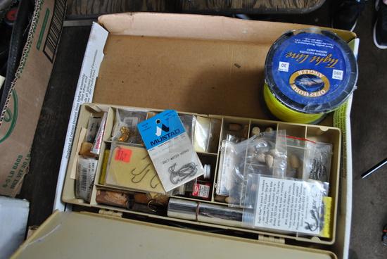 Box of Fishing Supplies