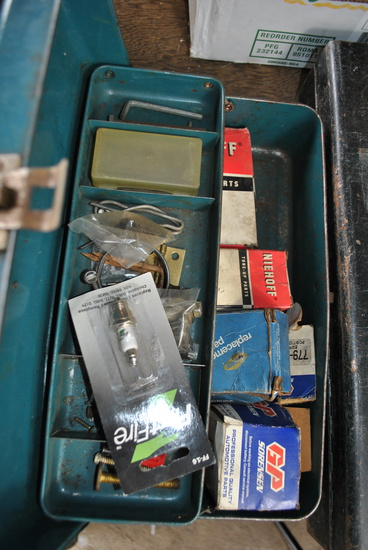 Box of Automobile Electric Components