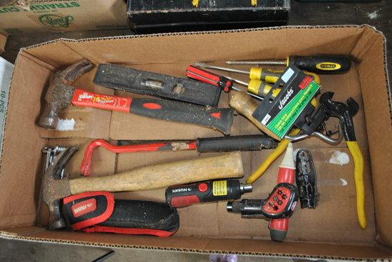 Box of Misc. Tools