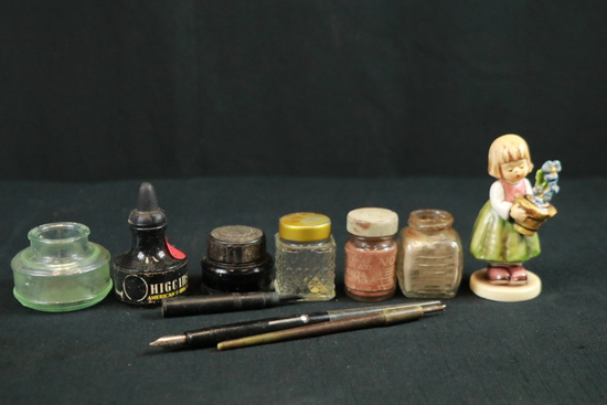 Inkwells, Ink, & Pens