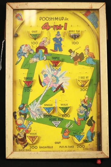 Antique Pinball Game