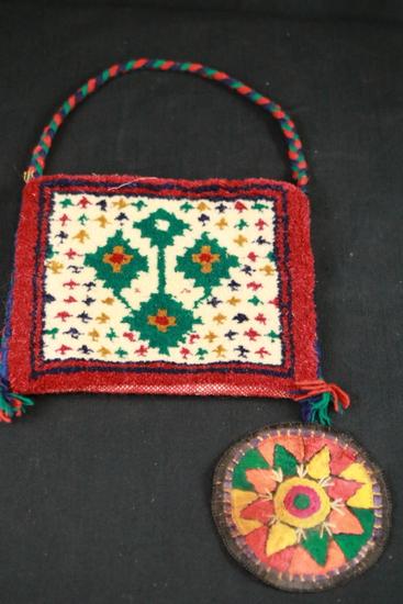 Hand Made Woven Bag & Coaster