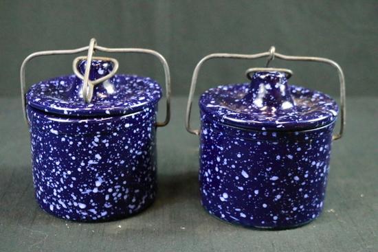 Pair Of Crock Jars