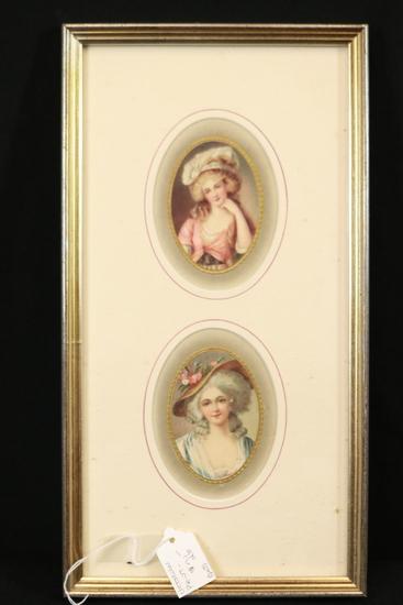 Victorian Framed Print & Shadowbox
