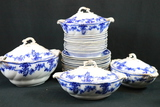 Partial Set Of W.H. Gringley & Co. England China