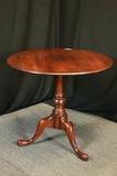 Cherry Tilt Top Table