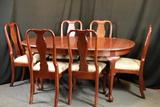 Cherry Knob Creek Table & 6 Chairs & 2 Leaves