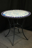 Tile Top Round Table