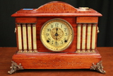 1880 Rare 4 Pillar Seth Thomas Adamantine Clock With Original Regulator Key