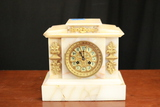 White Marble Mantle Clock (1890)