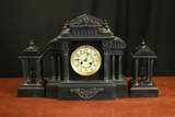 French Marble Mantle Clock (1878)