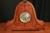 Large Junghans Mantle Clock With Cathedral Chimes