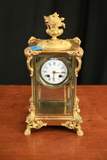 1895 French Case Clock