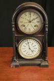 Antique B.B. Lewis Perpetual Calendar Wall Clock