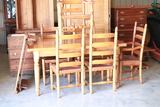 Maple Table 6 Chairs & 2 Leaves